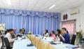 ประชุมคณะกรรมการติดตามและประเมินผลแผนการดำเนินงาน