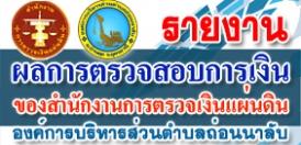 รายงานการเงินประจำปีพร้อมรายงานผลการตรวจสอบของสำนักงานการตรวจเงินแผ่นดิน (ประจำปีงบประมาณ 2563)